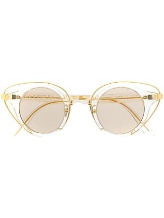 Kuboraum cat eye sunglasses - Dourado