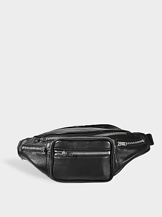 b1d329720 Alexander Wang Attica Soft Fanny Pack in Black Lamb Nappa Leather