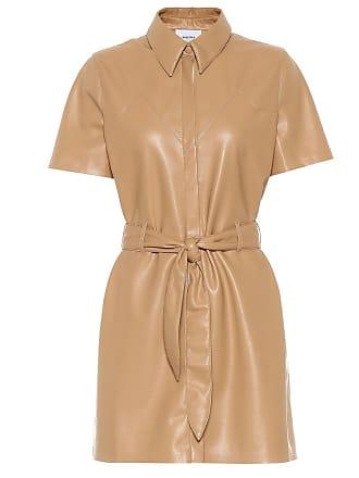 Nanushka Roberta faux leather minidress