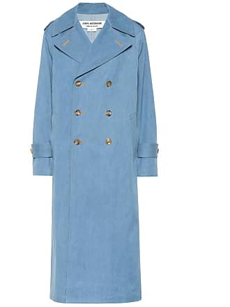 Junya Watanabe Denim double-breasted coat