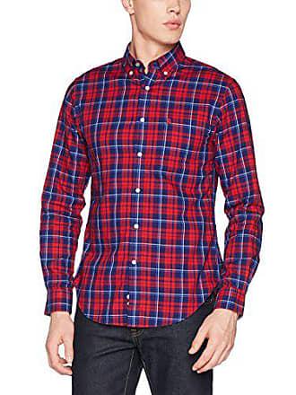 99e0bfea5b423 Cortefiel C8CK OX Rojo Azulón T-BD Camisa casual