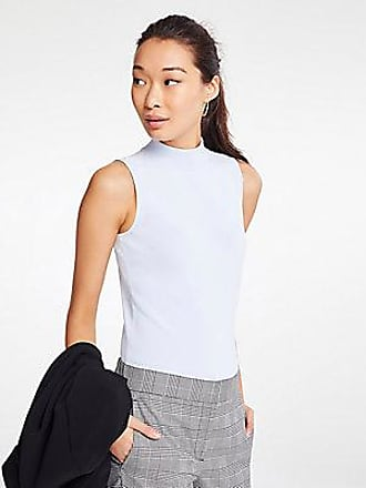 ANN TAYLOR Mock Neck Sweater Shell