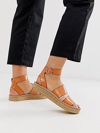 Asos Janella espadrille sandals - Orange