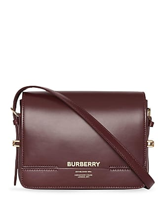 6d44ba36f858 Burberry Small Leather Grace Bag - Red