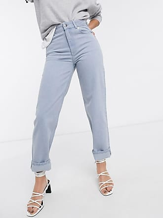 & Other Stories straight leg jeans in washed blue