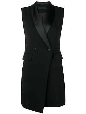 Federica Tosi sleeveless blazer dress - Black
