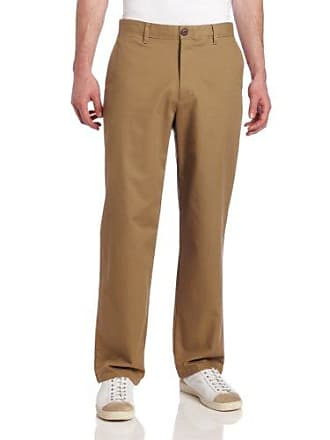 Dockers Mens 24/7 D3 Classic-Fit Flat-Front Pant, New British Khaki - discontinued, 36W x 34L