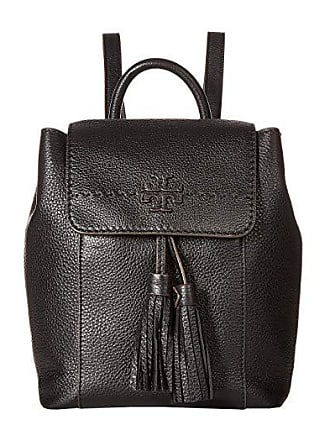 Tory Burch Mcgraw Backpack (Black) Backpack Bags