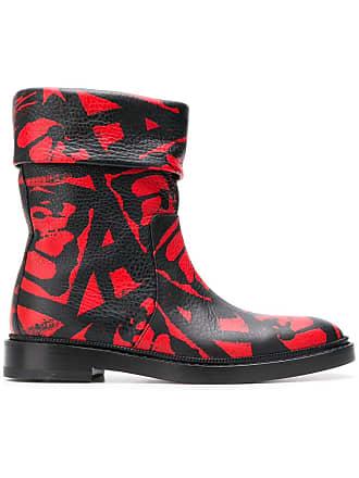 PAUL ANDREW Rian boots - Vermelho