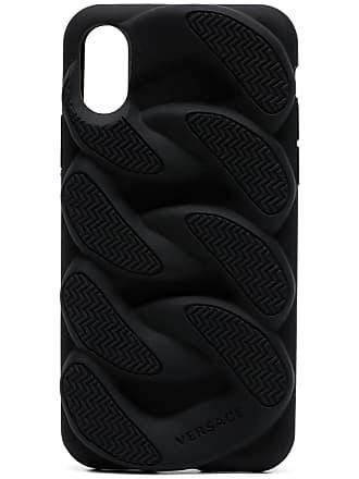 Versace Capa Chain Reaction para iPhone X - Preto
