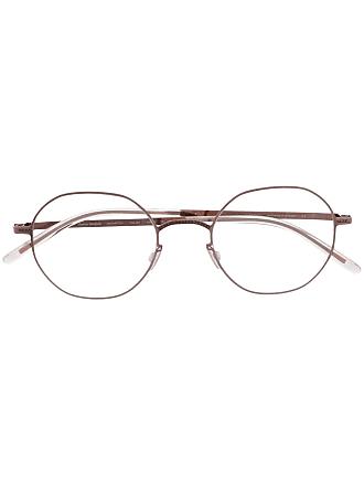 Mykita Armação de óculos redonda - Dourado