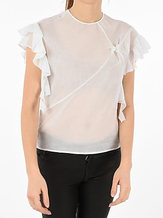 Drome Sheer Puff Slevee Top size S