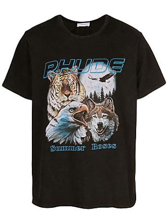 Rhude Camiseta com estampa - Preto