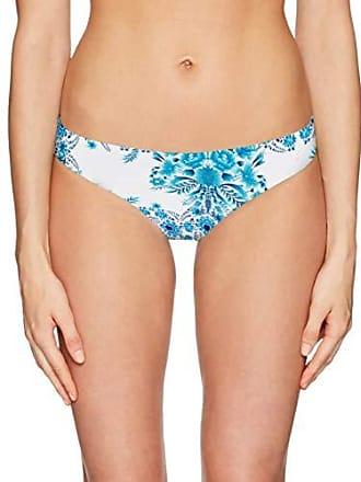 6fd1db6afa Seafolly Womens Hipster Bikini Bottom Swimsuit, Sunflower Electric Blue, 6  US