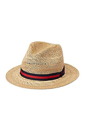Le 31 Striped band straw fedora