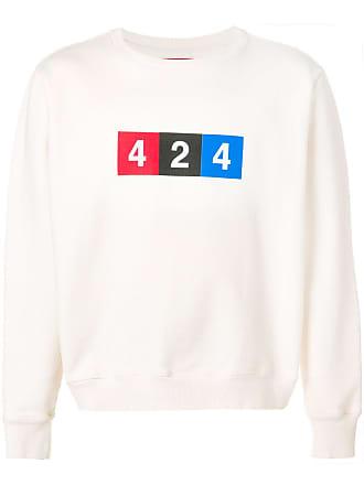 424 Moletom com estampa de logo - Neutro