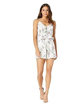 Yumi Kim Sugar and Spice Romper (Primrose White) Womens Jumpsuit & Rompers One Piece