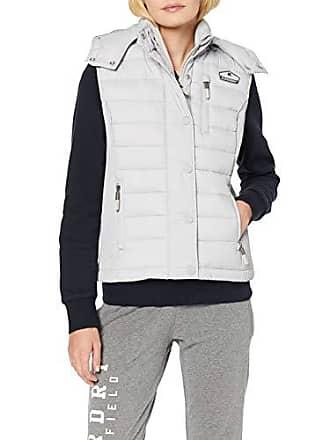924cd2ffcc9bdd Superdry Damen Fuji Slim Double Zip Vest Outdoor Weste