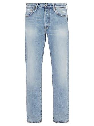 Acne Studios 1996 Trash Straight Leg Jeans - Mens - Blue