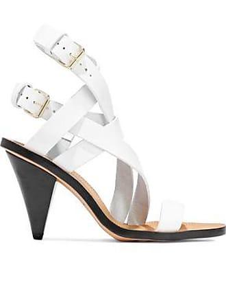 Iro Iro Woman Riara Buckled Leather Sandals White Size 36