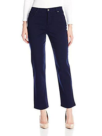 Gloria Vanderbilt Womens Amanda Classic Tapered Jean, Midnight Blue, 10