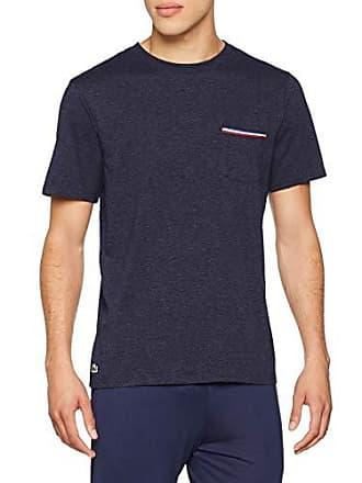 8514bc4ee1 Lacoste RAM1308 Haut de Pyjama Homme Noir (Noir 001) Small (Taille  Fabricant: