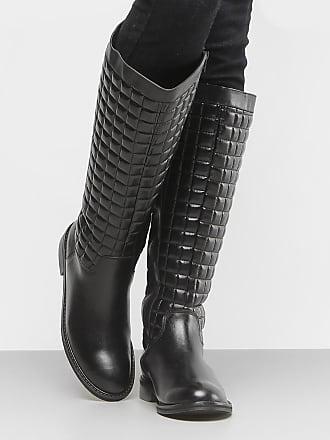 cf4d5e3939 Shoestock Bota Couro Montaria Shoestock Matelassê Feminina - Feminino