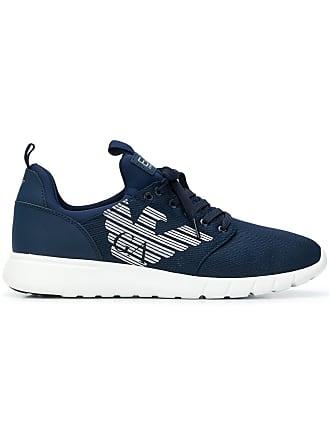 Emporio Armani runner sneakers - Blue