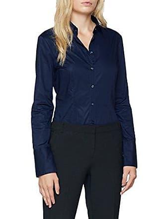 Seidensticker Damen Bluse Bodybluse Langarm Slim fit Uni bügelfrei 8b8a1af43e