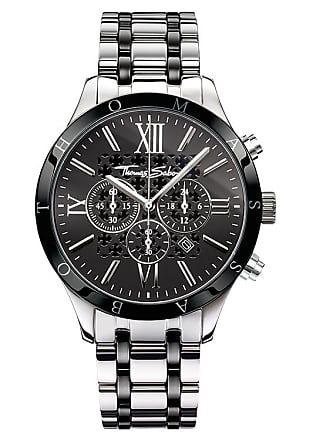 Thomas Sabo Thomas Sabo Mens Watch black WA0139-222-203-43 MM