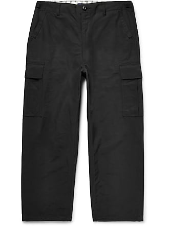 Junya Watanabe Canvas Cargo Trousers - Black