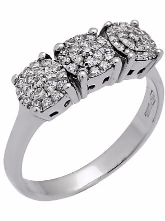 Chimento Past Present Future Round Diamond Ring
