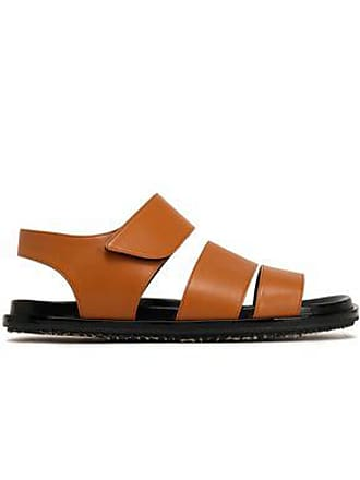 41842adaef26 Marni Marni Woman Leather Sandals Light Brown Size 36