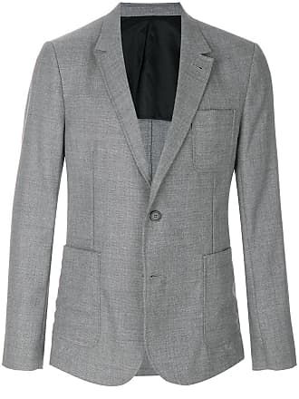 Ami two buttons half-lined jacket - Grey