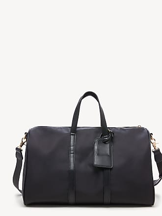 Sole Society Womens Cassidy Weekender Vegan Leather In Color: Black Nylon Bag From Sole Society