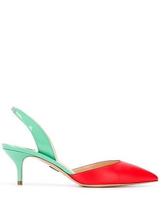 PAUL ANDREW Sapato color block - Vermelho