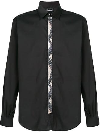 Just Cavalli Camisa mangas longas - Preto