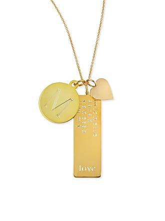 4379637de05eb5 Sarah Chloe 14k Gold Plated Cari 3-Pendant Necklace with Initial, Multi-Name