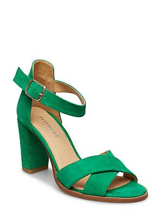 4fd85ac75699 Pavement Silke Cross Sandal Med Klack Grön PAVEMENT
