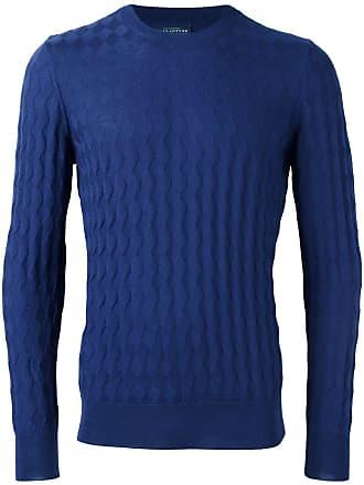 Ballantyne Suéter decote careca - Azul