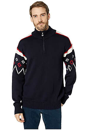 aba8d2b4 Dale of Norway Seefeld Masculine Sweater (C-Navy/Raspberry/Off-White