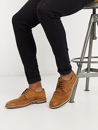 Burton Menswear brogues in tan