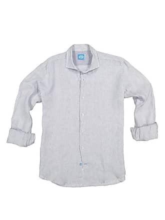 Panareha PHUKET linen striped shirt grey