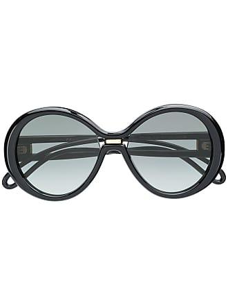 e3299b99c44fa Givenchy Óculos de sol oversized redondo - Preto