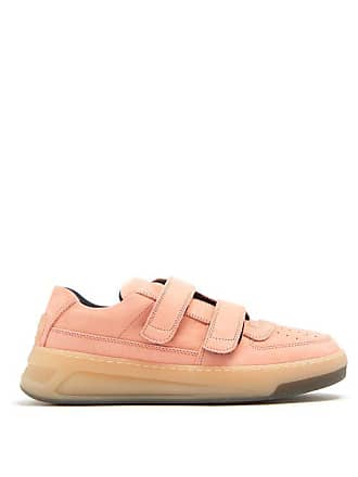 Acne Studios Low Top Nubuck Trainers - Womens - Pink