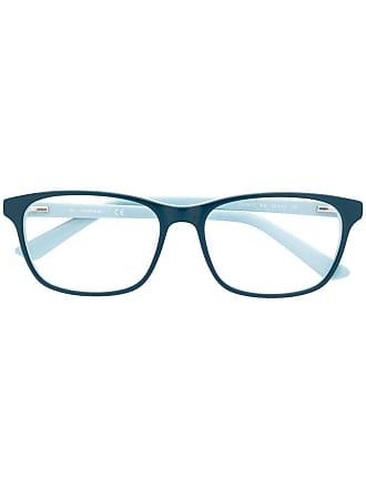 Calvin Klein Armação de óculos bicolor - Azul