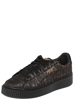 0ad77d7949b40e Puma Sneaker Basket Platform schwarz