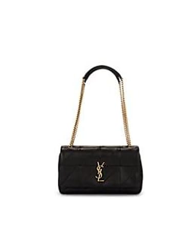 72d04330ec97 Saint Laurent Womens Monogram Jamie Medium Leather Bag - Black