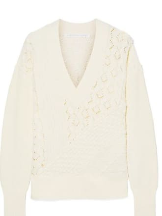 Veronica Beard Dessa Cotton Sweater - Cream