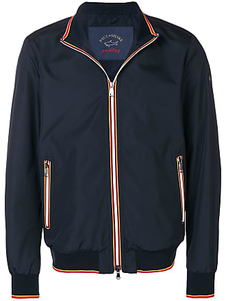 Paul & Shark Jaqueta bomber tricolor - Azul